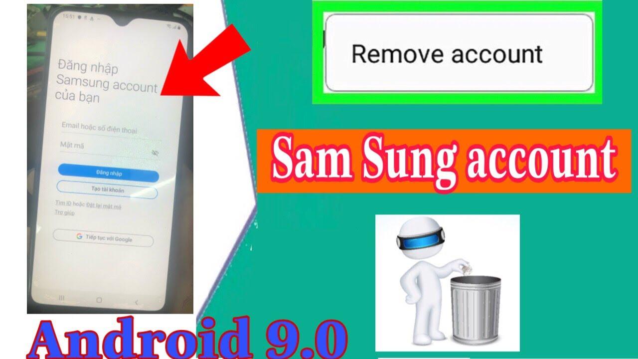 Hướng dẫn xóa tai khoản samsung account mới nhất android 9 0 l bypass Samsung Account android 9.0