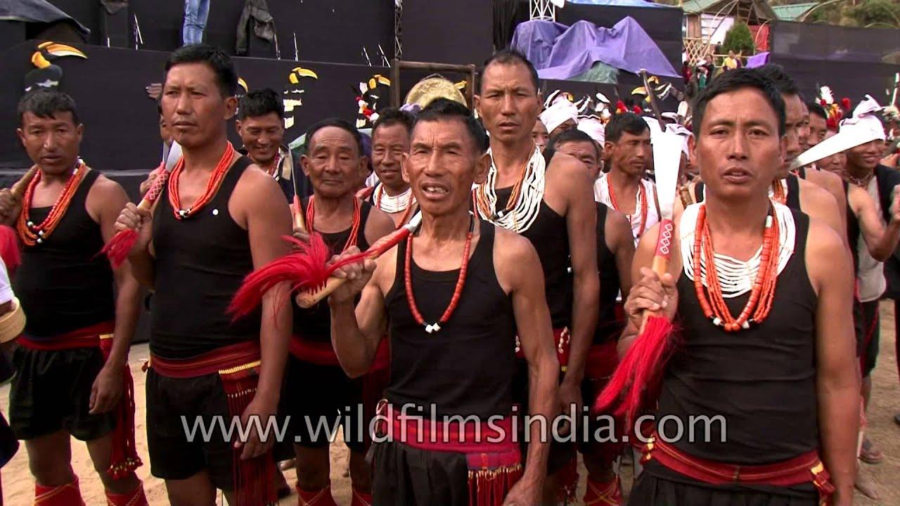 Indigenous tribes of Nagaland, India