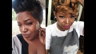 D.I.Y. 27 Piece w/ Lace Frontal + Blonde Ombre | Glams Corner | GlamsCorner