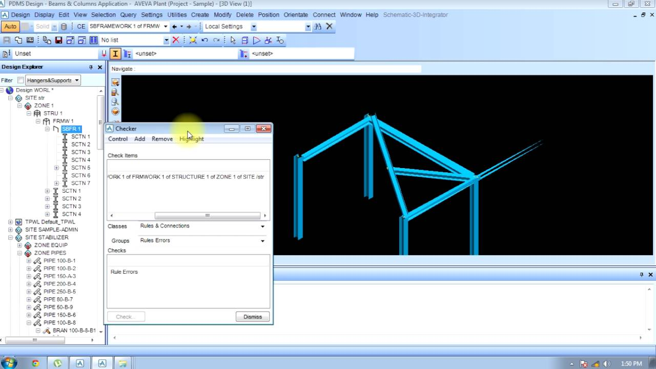 How To Edit Structure In Pdms Youtube