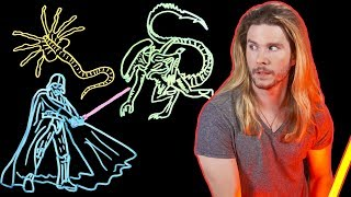 Are Alien Xenomorphs Really No Match for Darth Vader? | Because Science w/ Kyle Hill