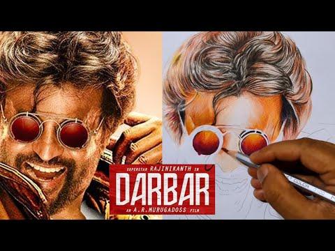 DARBAR(Tamil)-Motion Poster Drawing | Rajinikanth | A.R Murugadoss | Anirudh Ravichander| Subaskaran