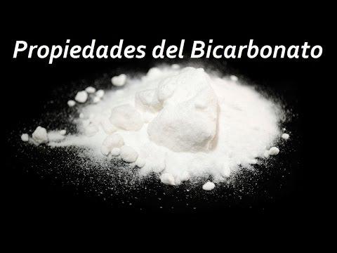 Propiedades del bicarbonato de sodio.