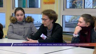 Yvelines | Des ingénieures témoignent de leur travail face à des collégiennes maurepasiennes