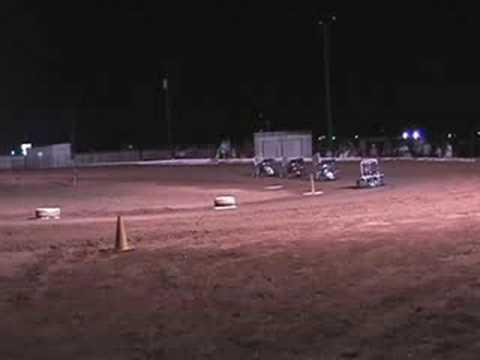 Outlaw karting Texoma Motor Speedway 25 Jul 2008