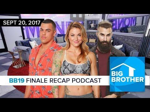 Big Brother 19 Finale Recap Podcast | Sept 20
