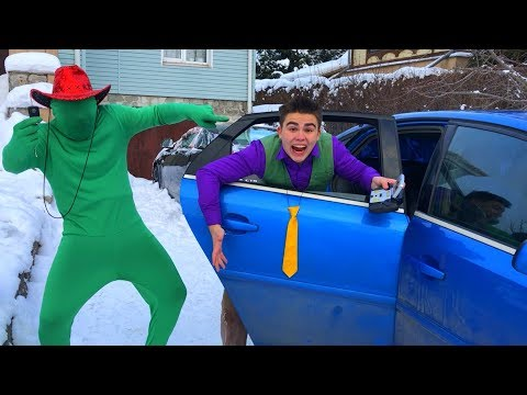 Mr. Joe found Remote Control VS Green Man on Opel Vectra OPC & Funny Race for Kids