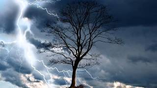 Sounds Of Nature Rain Storm Music with Theta Binaural Beats