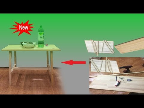 DIY Pallet Small Table, Simple pallet wood table