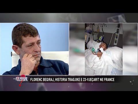 Vdekja e Florenc Beqirajt në Francë, babai rrëfen në studio: Djalit i punoi zemra 4 minuta pas…