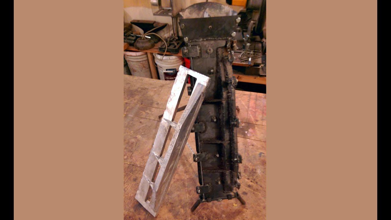 reusable aluminum casting mold