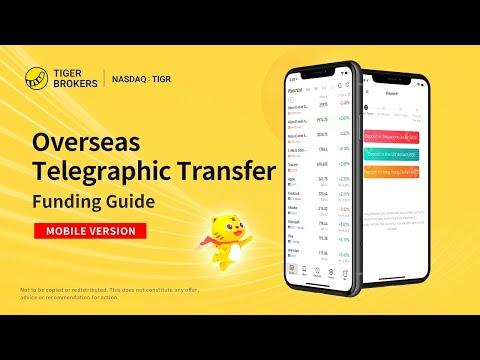 Tiger Trade APP - Overseas Telegraphic Transfer (TT) -Tiger Brokers