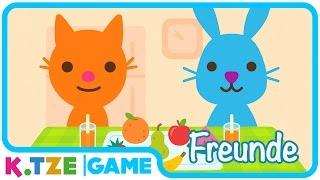 Sago Mini Friends auf Deutsch ❖ Kleinkinder Serie als Spiele App mit Katze