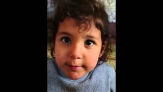 3 yaşındaki Ceylinsu'nun Ata'ya şiiri 😃