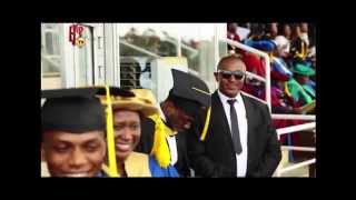 Watch Davido as he graduates from Babcock University