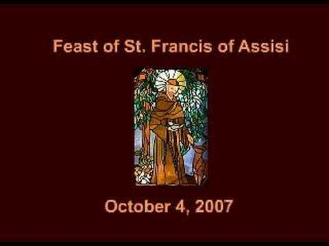 Blessing of St. Francis of Assisi