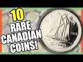 10 RARE CANADIAN COINS WORTH MONEY - VALUABLE CANADIAN COINS TO LOOK FOR!!