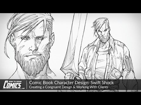 Comic Book Character Design: Swift Shock | Creating a Congruent Design & Working With Clients thumbnail