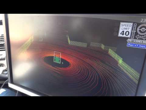 Google Robocar Lidar Navigation System