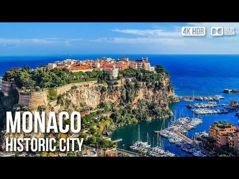 Monaco-Ville (Old Town), Prince's Palace - 🇲🇨 Monaco - 4K Virtual Tour