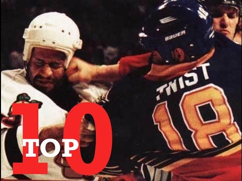Top Ten NHL Hockey Fights of Tony Twist