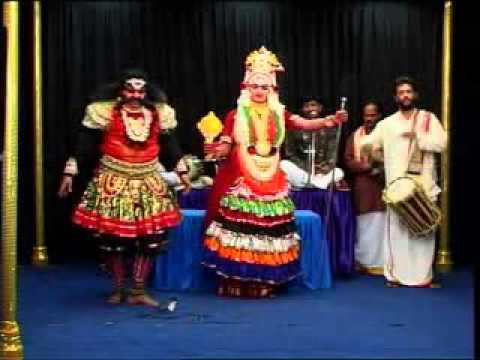 Yakshagana Tenku Kolluru kshetra mahatme Patla satish shetty avasurana savara 11