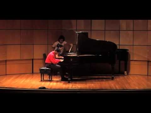 Brahms Piano Concerto in D minor 2nd and 3rd movt - Ross Salvosa, pianist