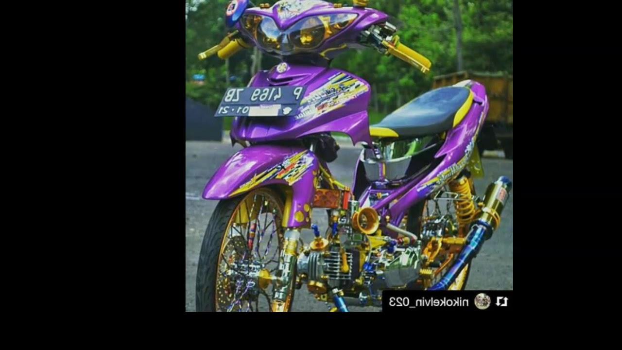 96 Kumpulan Gambar Motor Mio Modifikasi Warna Ungu Terlengkap