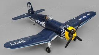 unboxing 1450mm airfield f4u corsair