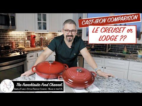 Lodge Or Le Creuset ? The Unbiased Comparison!
