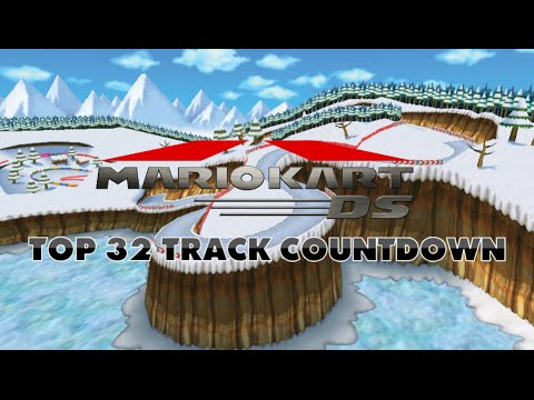Mario Kart DS - Top 32 Tracks Countdown