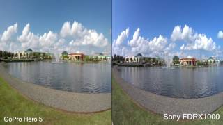 GoPro Hero 5 Black vs Sony ActionCam FDR-X1000 comparison review