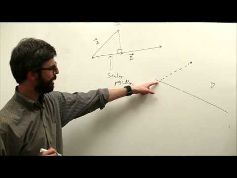 6.5: Vectors: The Dot Product - The Nature of Code
