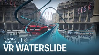 Topshop just launched a VR waterslide