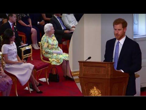 MEGHAN & THE QUEEN Watch PRINCE HARRY FULL SPEECH - Queen