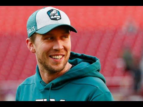 Philadelphia Eagles' Nick Foles discusses health, Chicago Bears matchup