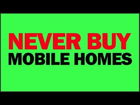 Never Buy Mobile Homes Inside A Mobile Home Park