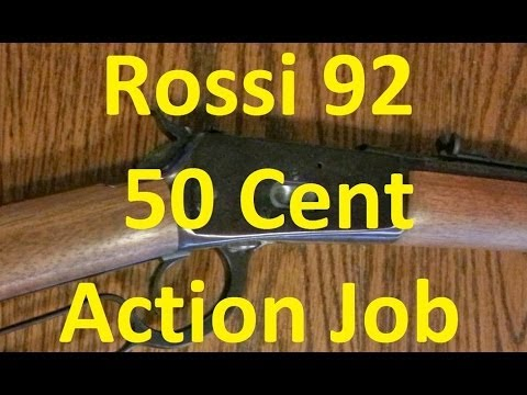 Rossi R92 50 Cent Action Job Winchester 92 Clone