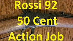 Rossi R92 50 Cent Action Job (Winchester 92 Clone)