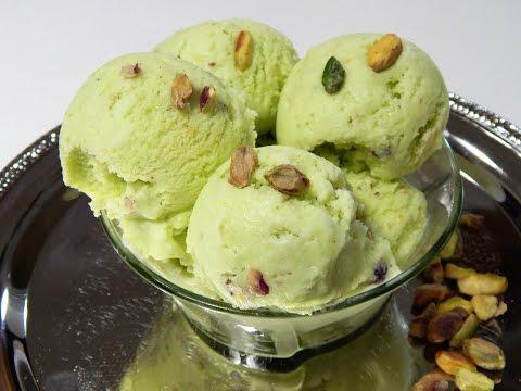 Peshawari Pista Ice Cream Without Machine(Pistachio Ice Cream) پشاوری پستہ آئسکریم