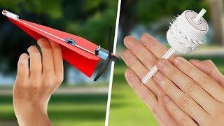 4 Ideias Simples Para Fazer Brinquedos Legais