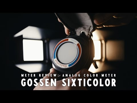 Gossen Sixticolor Color Temperature Meter 5600 K, 3200 K Review