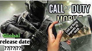 CALL OF DUTY LEGENDS OF WAR MOBILE - Login issue - Global release date.. (Bangla)