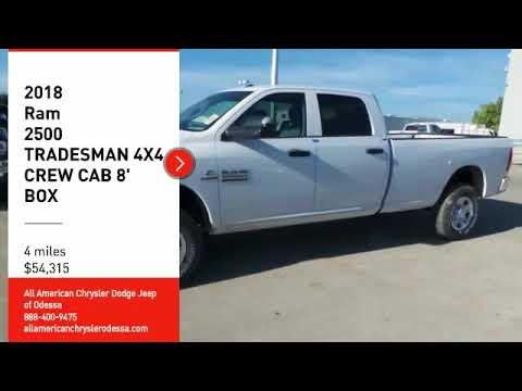 2018 Ram 2500 Odessa Tx Jg287702 Youtube