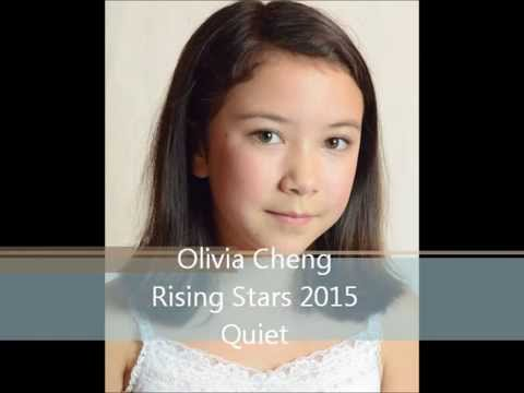 Olivia Cheng singing Quiet from Matilda