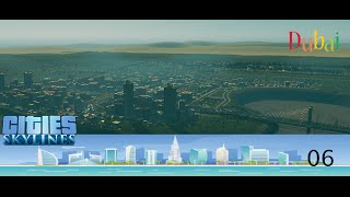 Cities Skylines- Dubai-#06# educacion y seguridad (gameplay español)