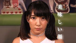 筋肉アイドル才木玲佳が期間限定「もへじ丼」を食べる アイドルの食べる...