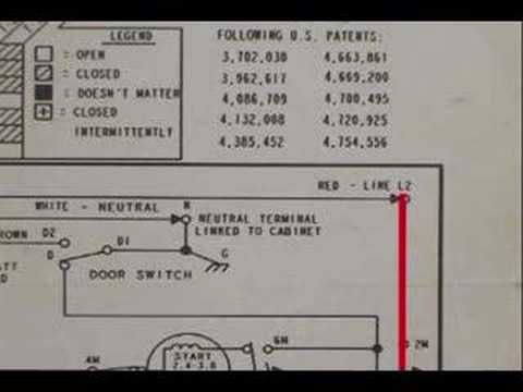miele washing machine wiring diagram amana washing machine wiring diagram wiring schematic youtube