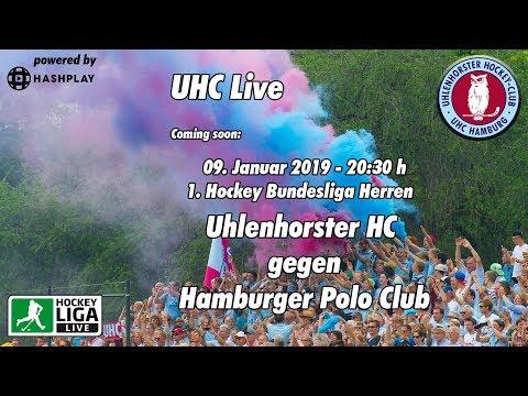 UHC Live - UHC vs. HPC - 1. Herren Hockey Bundesliga - 09.01.2019 - 20.30 h