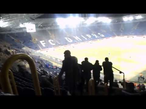 before the match Dnipro - Tottenham